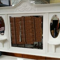 white-painted-furniture-mirror